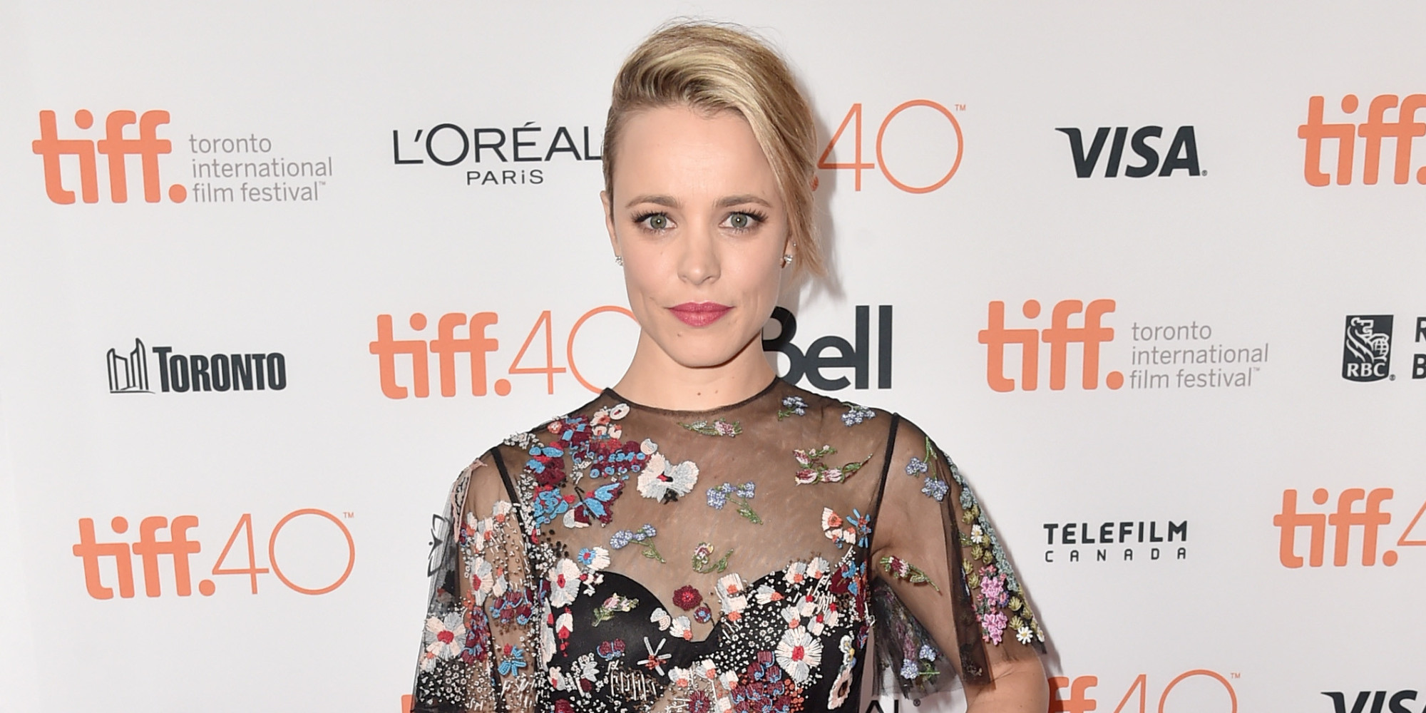 "TORONTO, ON - SEPTEMBER 14: Actress Rachel McAdams attends the ""Spotlight"" premiere during the 2015 Toronto International Film Festival at the Princess of Wales Theatre on September 14, 2015 in Toronto, Canada. (Photo by Alberto E. Rodriguez/Getty Images)"