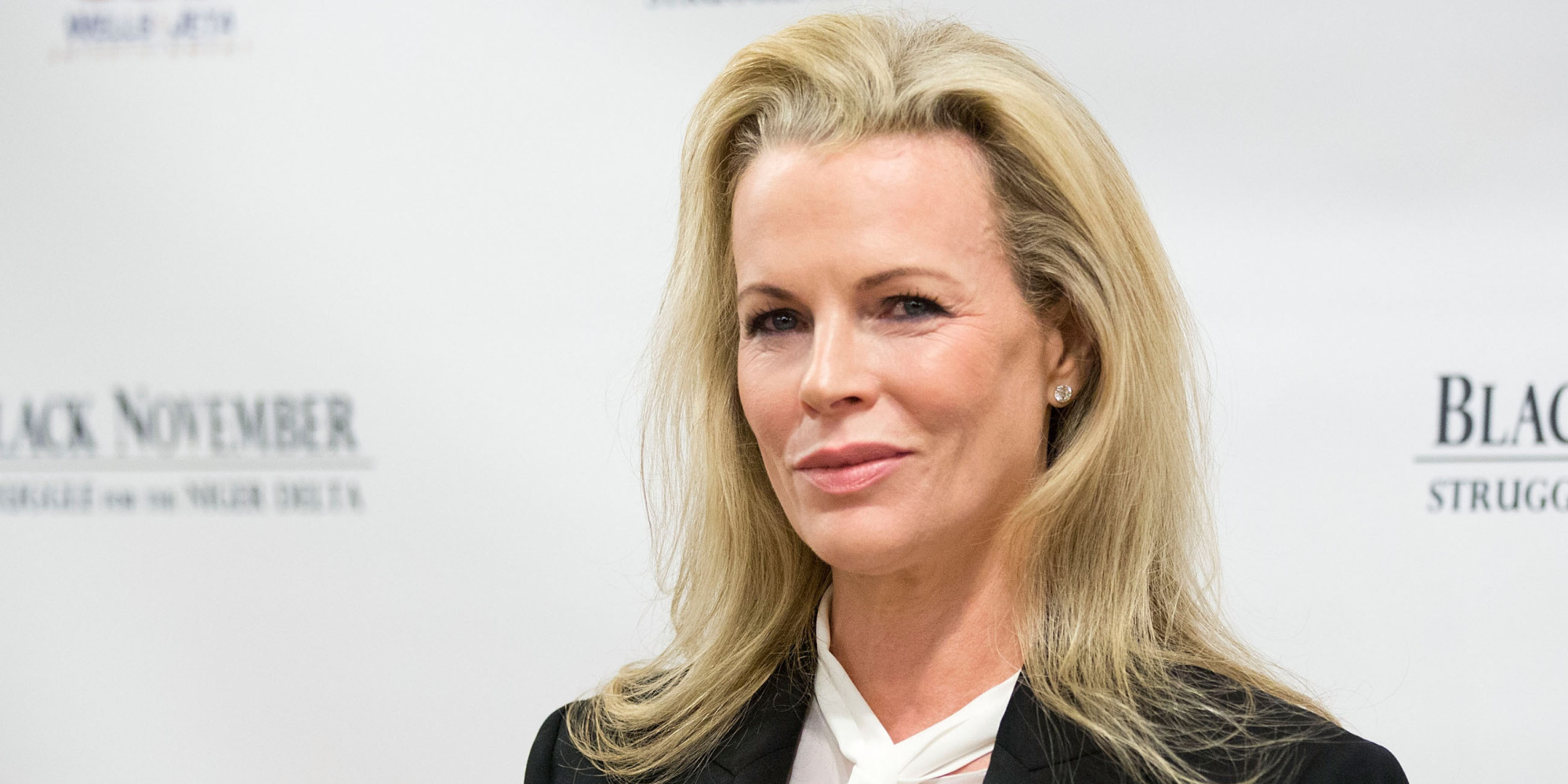 "NEW YORK, NY - SEPTEMBER 26: Kim Basinger attends the ""Black November"" New York City Premiere at United Nations on September 26, 2012 in New York City. (Photo by Dario Cantatore/Getty Images for Wells and Jeta Entertainment)"