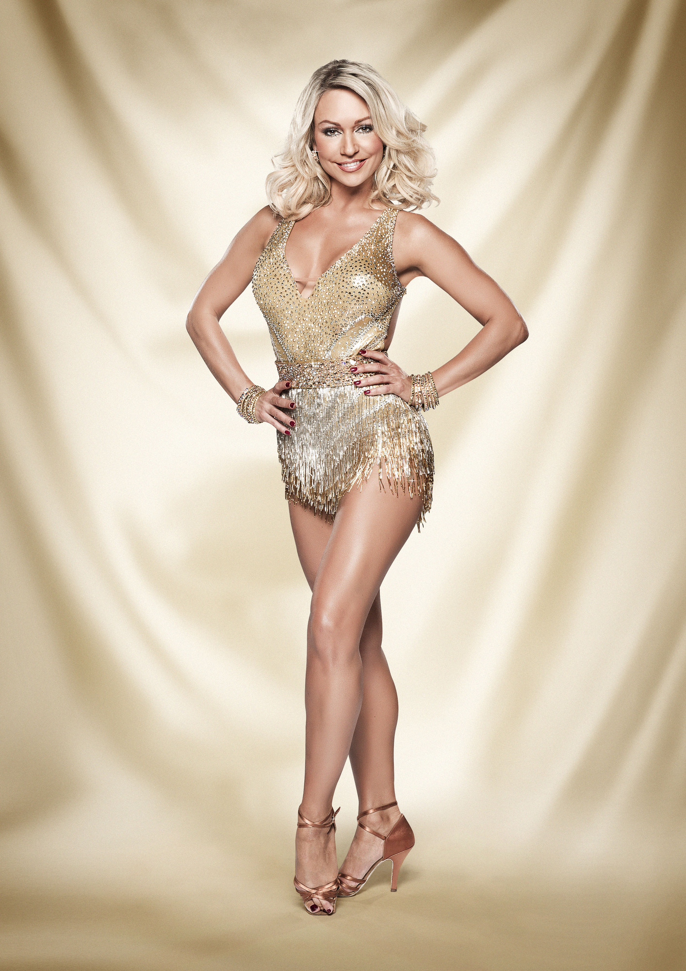 Programme Name: Strictly Come Dancing - TX: n/a - Episode: n/a (No. n/a) - Embargoed for publication until: n/a - Picture Shows: Kristina Rihanoff - (C) BBC - Photographer: Ray Burmiston