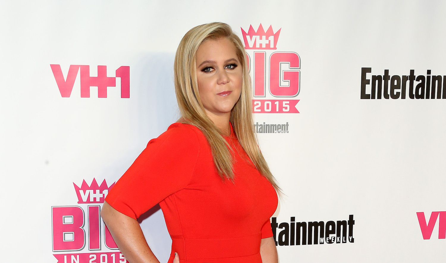 WEST HOLLYWOOD, CA - NOVEMBER 15: Actress Amy Schumer attends VH1 Big in 2015 With Entertainment Weekly Awards at Pacific Design Center on November 15, 2015 in West Hollywood, California. (Photo by Frederick M. Brown/Getty Images)