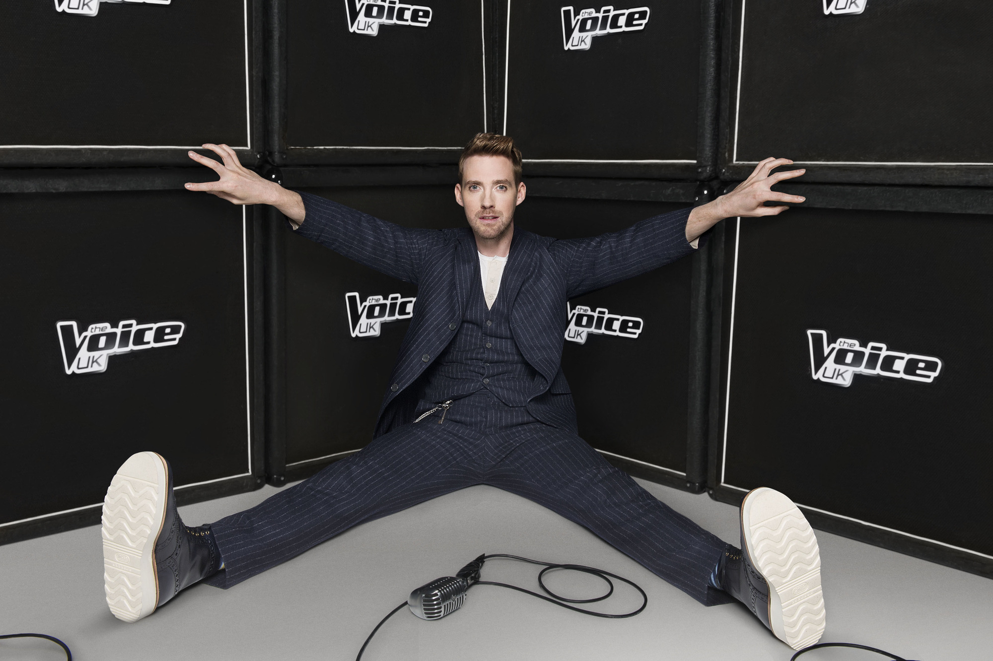 Programme Name: The Voice - TX: n/a - Episode: n/a (No. n/a) - Embargoed for publication until: 06/01/2014 - Picture Shows: Ricky Wilson - (C) Wall to Wall - Photographer: Ray Burmiston