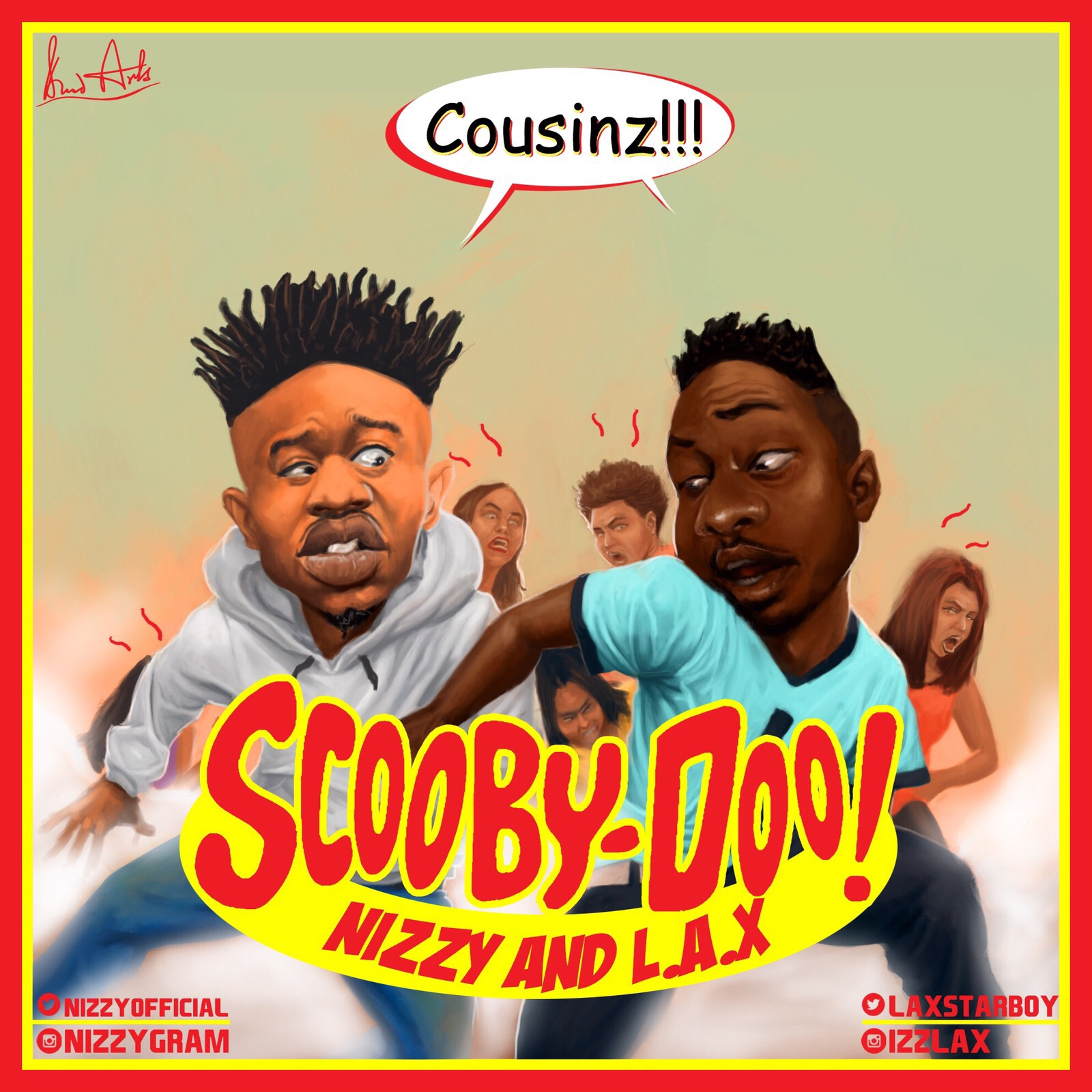 Nizzy L.A.X Scooby Doo Artwork