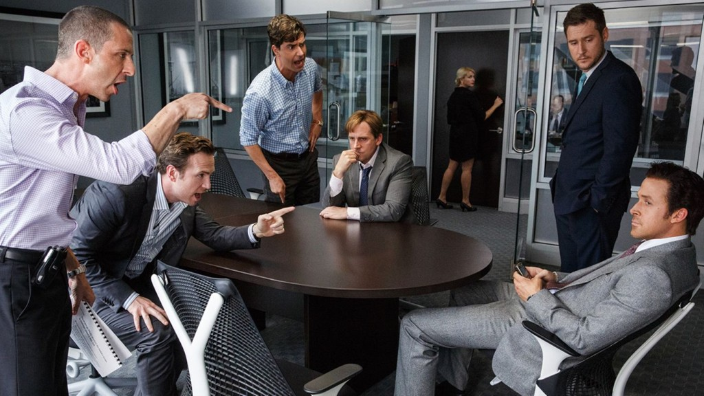 The Big Short fight