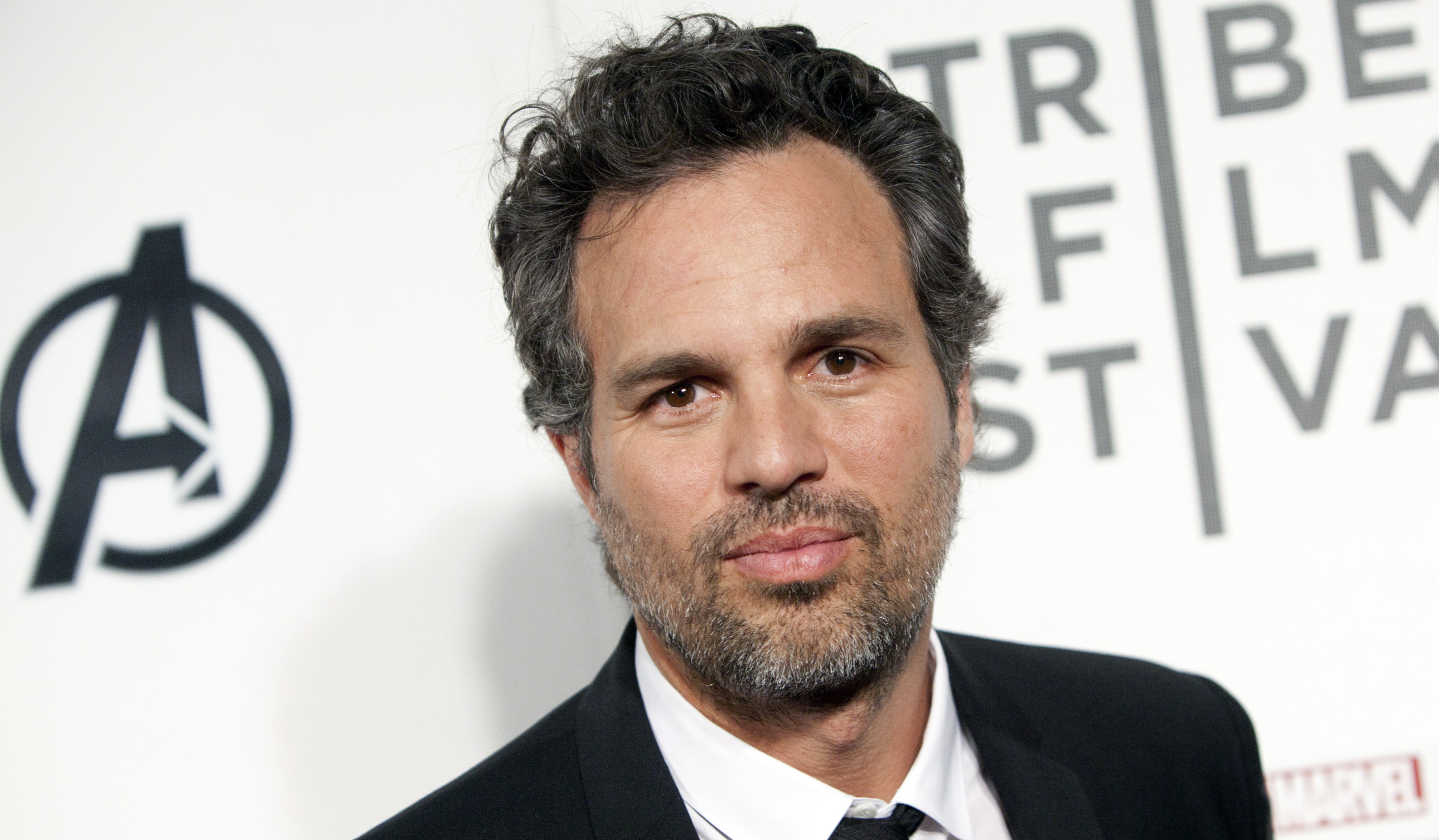 "Actor Mark Ruffalo arrives at the screening of the film ""Marvel's The Avengers"" for the closing night of the 2012 Tribeca Film Festival in New York"