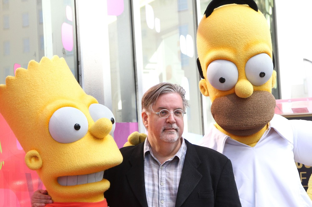 matt-groening-walk-of-fame-01