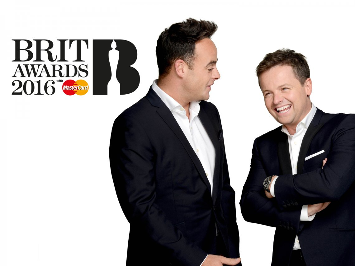 Brit Awards Ant & Dec
