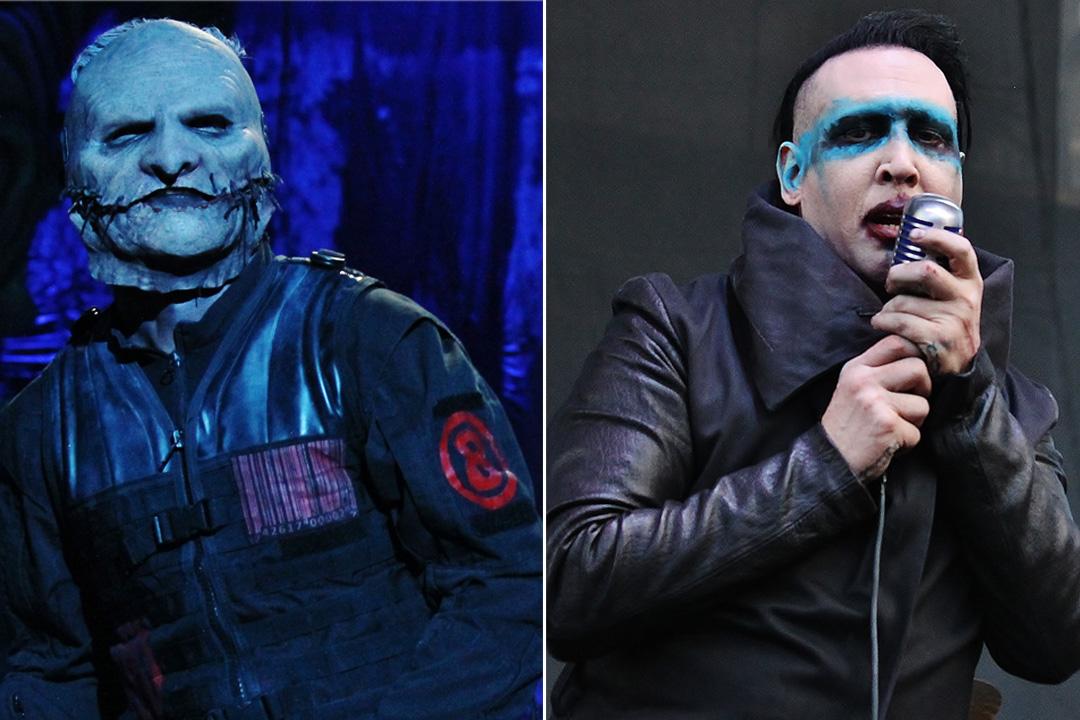 Slipknot-Marilyn-Manson