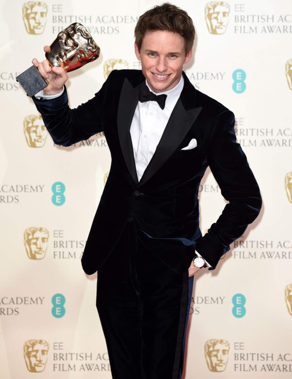 eddie redmayne BAFTA