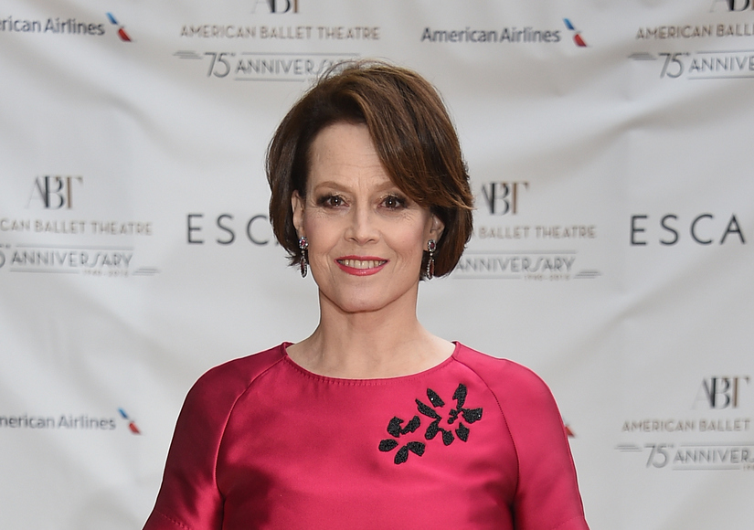 NEW YORK, NY - MAY 18: Actress Sigourney Weaver attends the American Ballet Theatre's 75th Anniversary Diamond Jubilee Spring Gala at The Metropolitan Opera House on May 18, 2015 in New York City. (Photo by Dimitrios Kambouris/Getty Images)