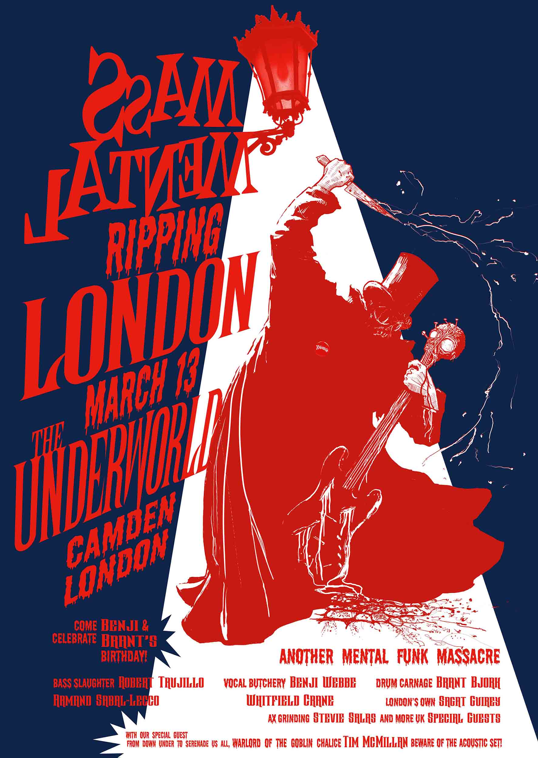 Motörhead And Metallica Members Team Up For London Show