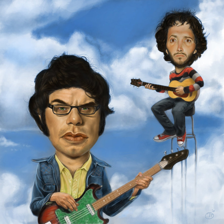 Flight Of The Conchords 01.03.2016ANDREW