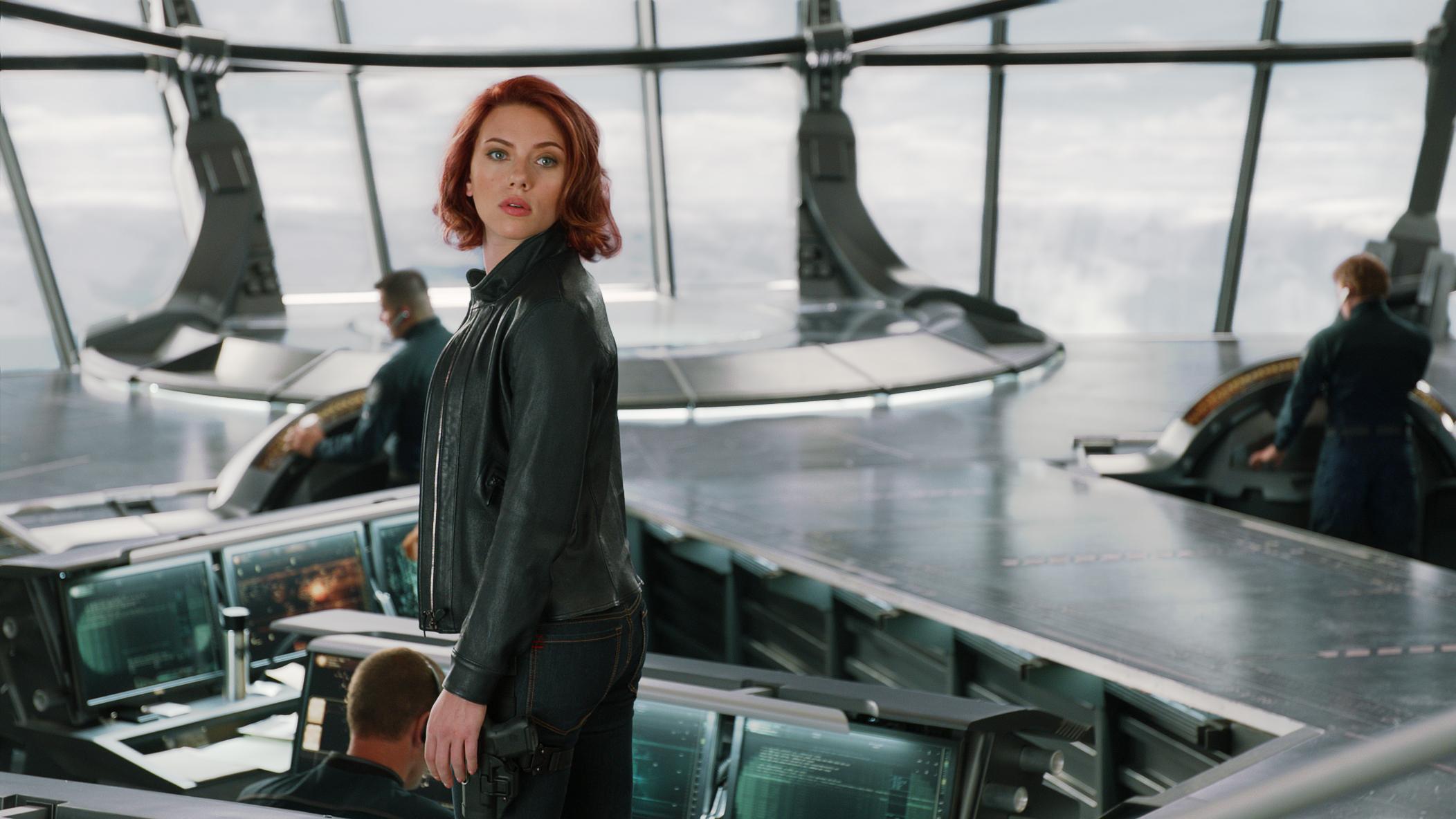 """Marvel's The Avengers"" Natasha Romanoff/Black Widow (Scarlett Johansson) Ph: Film Frame © 2011 MVLFFLLC. TM & © 2011 Marvel. All Rights Reserved."