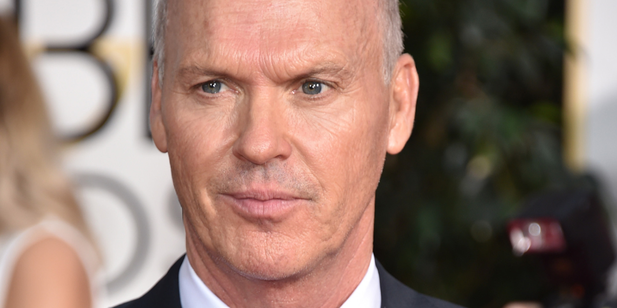 Michael Keaton arrives at the 72nd annual Golden Globe Awards at the Beverly Hilton Hotel on Sunday, Jan. 11, 2015, in Beverly Hills, Calif. (Photo by John Shearer/Invision/AP)
